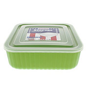 SOGO Square Food Storage Container, Assorted Colors
