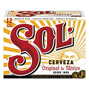 Sol Beer 12 oz Cans