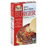 Sol Cuisine Spicy Black Bean Burgers