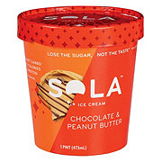 Sola Peanut Butter Chocolate Ice Cream