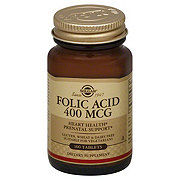 Solgar Folic Acid 400 mcg Tablets