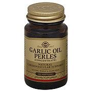 Solgar Garlic Oil Perles Softgels