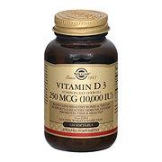 SOLGAR Vitamin D3 10000u