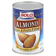 Solo Almond Cake & Pastry Filling