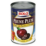 Solo Prune Plum Cake and Pastry Filling