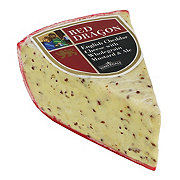 Somerdale Red Dragon English Cheddar Cheese with Wholegrain Mustard and Ale