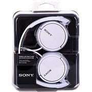 Sony Compact Fold Headphones White