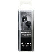 Sony Fashion Black Earbuds