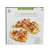 Sophia's Favorite Grilled Vegetable Pizza