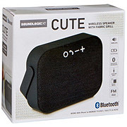 Sound Logic Cute Bluetooth Fabric Portable Speaker