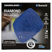 Sound Logic Diamond Portable Fabric Bluetooth Speaker