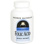 Source Naturals Source Naturals Folic Acid Tablets