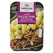 Southern Living Smoked Pulled Pork with Gouda Mac N Cheese