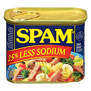 Spam Less Salt Luncheon Loaf