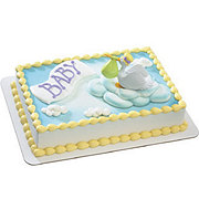 Special Delivery Baby Shower Cake