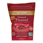 Spectrum Essentials Ground Premium Flaxseed With Mixed Berries