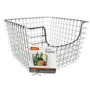 Spectrum Medium Scoop Basket Gray