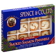 Spence and Co. Handmade Smoked Salmon Pinwheels