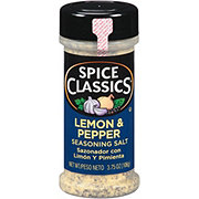 Spice Classics Lemon & Pepper Seasoning Salt