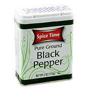 Spice Time Pure Ground Black Pepper