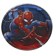 Spider-Man Square Plate, 7 inch