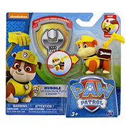 Spin Master Paw Patrol Assorted Action Pack Pups & Badge