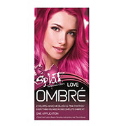 Splat Ombre Love Hair Color