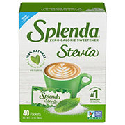 Splenda No Calorie Sweetener Naturals Packets