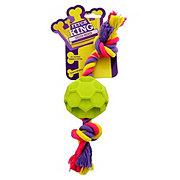 SportPet Design Fetch King Soccer Rocker Dog Toy