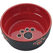 Spot Fresco Dish Dog Red