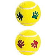 Spot Paw Print Tennis Balls