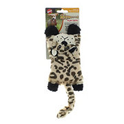 Spot Skinneez Flat Cats Dog Toy Leopard
