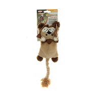 Spot Skinneez Flat Cats Dog Toy Lion