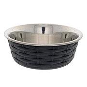 Spot Soho Basket Weave Dish Black 30oz