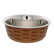 Spot Soho Basket Weave Dish Copper 30oz