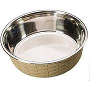 Spot Soho Basket Weave Dish Gray 30oz