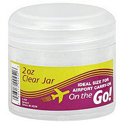 Sprayco On the Go Clear Jar