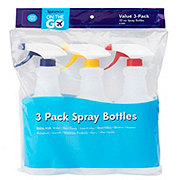 Sprayco Spray Bottles 3 pk