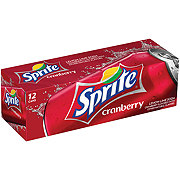 Sprite Lemon-Lime Cranberry Soda 12 oz Cans