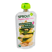 Sprout Organic Baby Food Butternut Squash, White Bean, Spinach & Amaranth