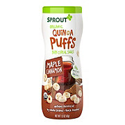Sprout Organic Maple Cinnamon Quinoa Puffs