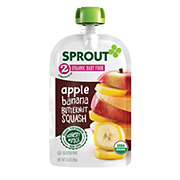 Sprout Stage 2 Apple Banana Butternut Squash Organic Baby Food