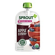 Sprout Stage 2 Apple Blueberry Organic Baby Food