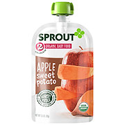 Sprout Stage 2 Apple Sweet Potato Organic Baby Food