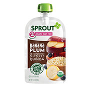 Sprout Stage 2 Banana Plum Blueberry Quinoa Organic Baby Food