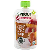 Sprout Stage 2 Carrot Apple Mango Organic Baby Food