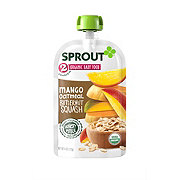 Sprout Stage 2 Mango Oatmeal Butternut Squash Organic Baby Food