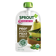 Sprout Stage 2 Pear Kiwi Peas & Spinach Organic Baby Food