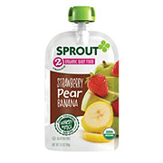 Sprout Stage 2 Strawberry Pear Banana Organic Baby Food
