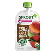 Sprout Stage 2 Sweet Potato Apple Spinach Organic Baby Food
